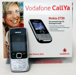 nokia 2730 vodafone callya paket neu h ndler prepaid ebay. Black Bedroom Furniture Sets. Home Design Ideas