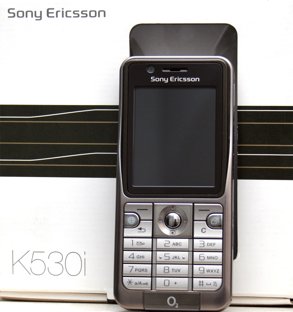 sony ericsson k530i warm silver ohne simlock handy release date 26 sep 2007 ebay. Black Bedroom Furniture Sets. Home Design Ideas