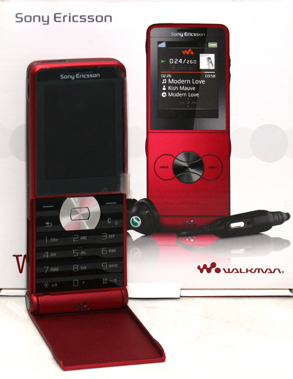 sony ericsson walkman w350i turbo red ohne simlock handy ebay. Black Bedroom Furniture Sets. Home Design Ideas