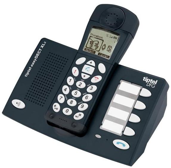 tiptel easydect xl2 gro tasten telefon seniorentelefon neu rechnung ovp ebay. Black Bedroom Furniture Sets. Home Design Ideas